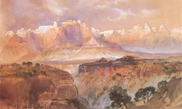 Cliffs of the Rio Virgin South Utah